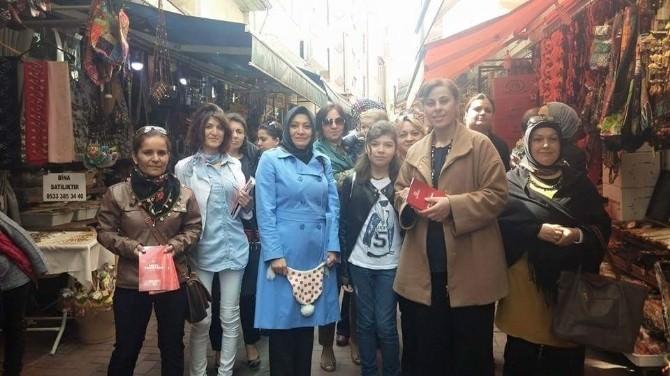 AK Parti Kadın Kolları Toplantılarına Devam Ediyor