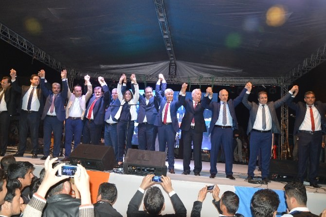AK Parti Mersin'de Adaylarını Tanıtıyor