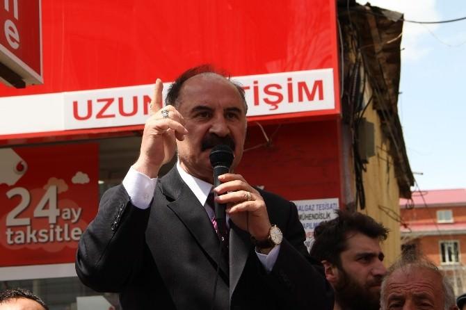 Ardahan'da MHP Milletvekillerine Coşkulu Karşılama