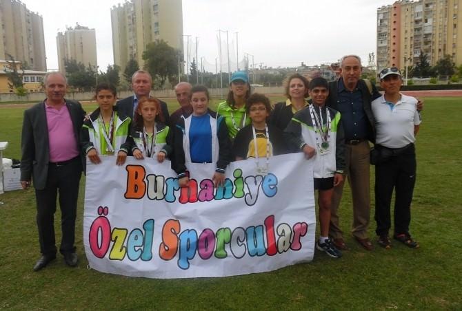 Burhaniye'de Özel Sporcular Rekor Kırdı