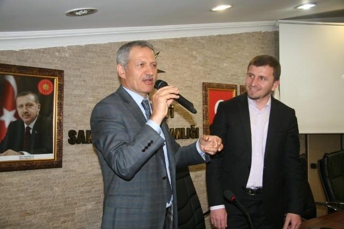 """Başkan Dişli, """"Yapılan Hizmetlerden Sadece AK Partililer Faydalanmıyor"""""""