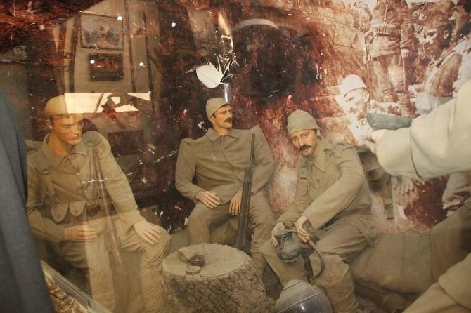 Çanakkale Savaşı Gezici Müze Tır'ı Dörtyol'da