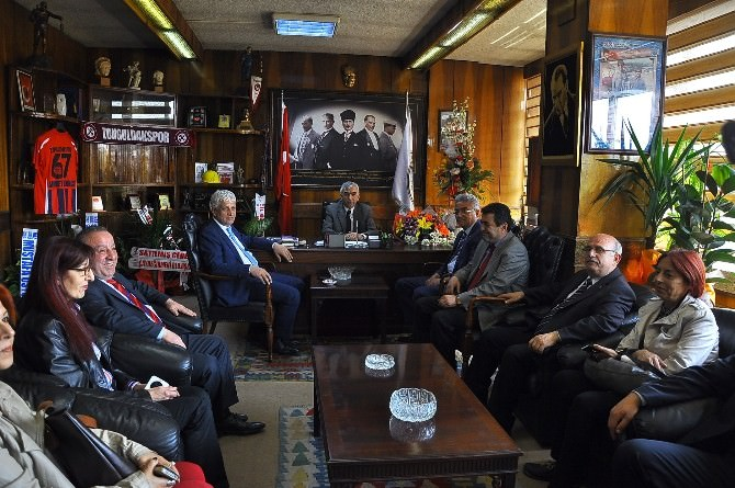 CHP Zonguldak Milletvekili Şerafettin Turpcu'dan GMİS'e Ziyaret