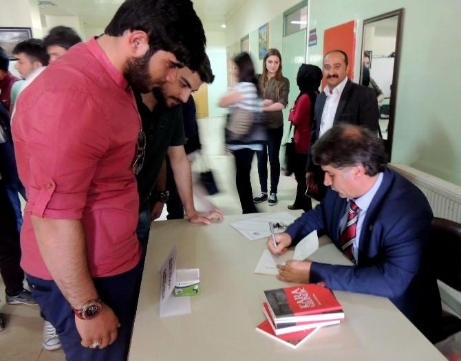 Gazeteci-yazar Bülent Ağcabay Öğrencilerle Buluştu
