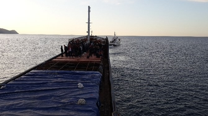 Mersin'deki Göçmen Kaçakçılığı Operasyonu Kamerada