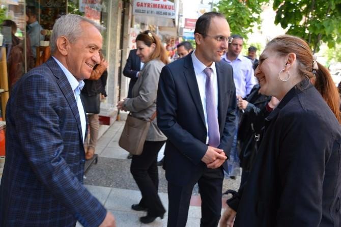 MHP'li Coşkun Ziyaretlerine Karaköy'de Devam Etti