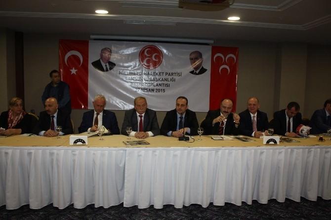 MHP'den Basın Toplantısı