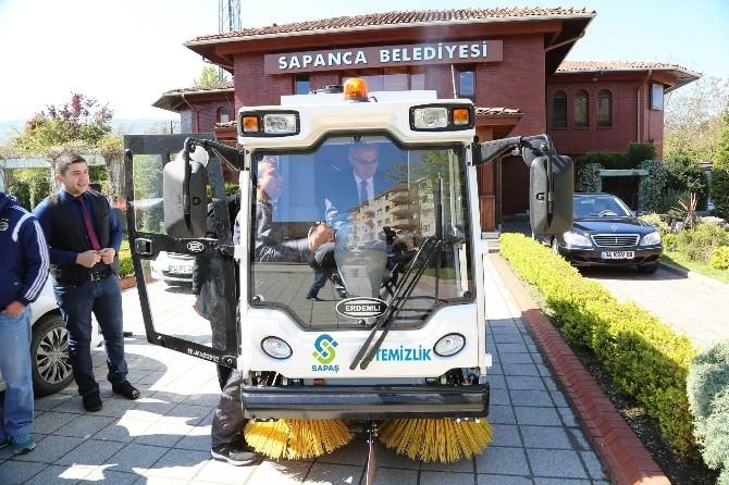 Sapanca Belediyesi, Temizlik İşleri Araç Filosuna Yeni Bir Araç Kazandırdı