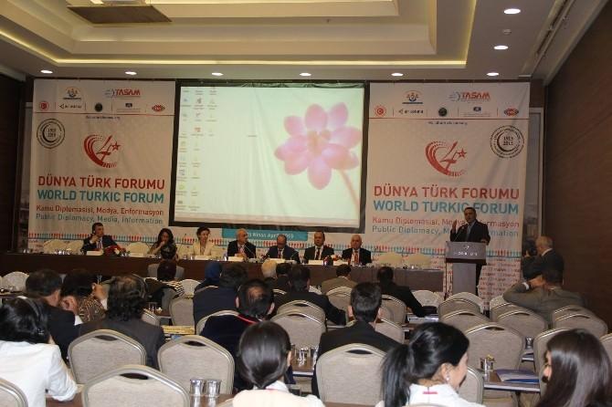 Yavuzaslan 4. Dünya Türk Forumunu Değerlendirdi