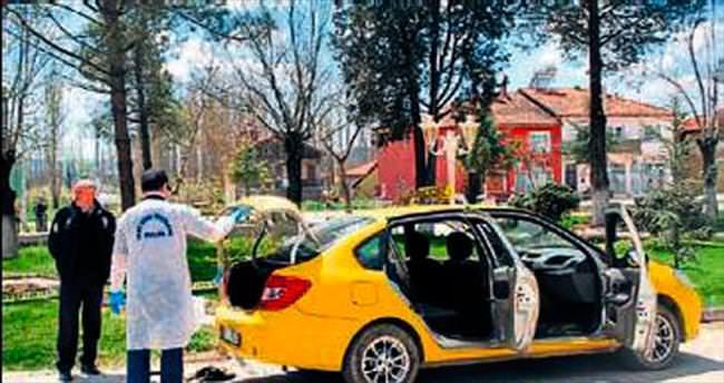 Taksici katilleri yakayı ele verdi