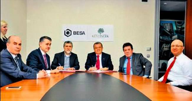 BESA'dan İncek'e 850 konutlu proje