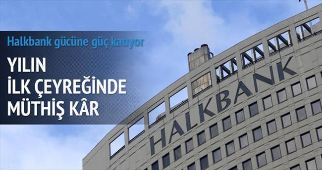 Halkbank'tan üç ayda 584 milyon TL net kâr