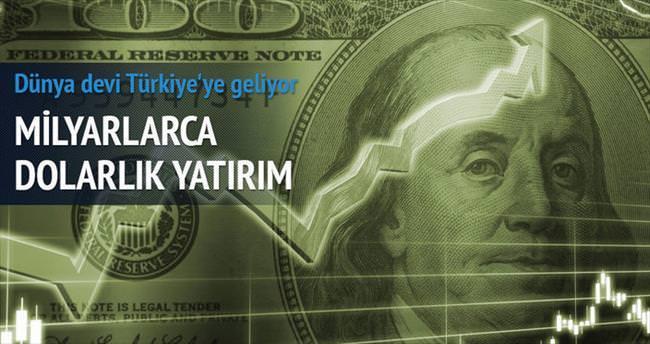 Türkiye'ye 5 yılda 5 kat yatırım yapacak