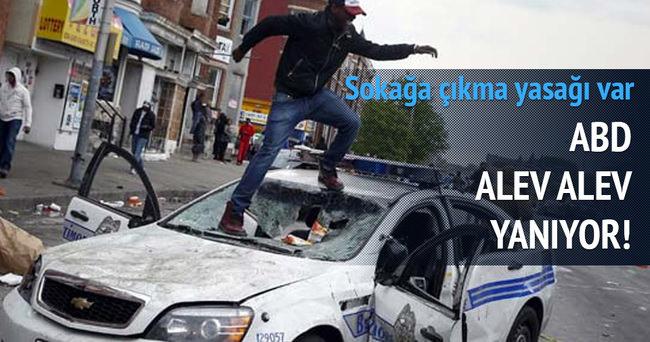 ABD'nin Baltimore kentinde olağanüstü hal ve sokağa çıkma yasağı ilan edildi