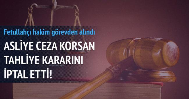 Asliye ceza korsan tahliye kararını iptal etti