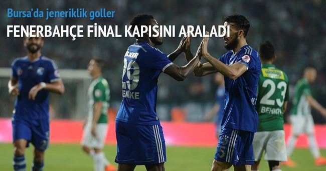 Bursaspor-Fenerbahçe! özeti ve golleri burada-İzle