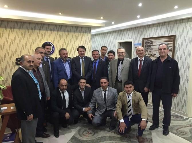 AK Parti Milletvekili Adayı İbrahim Aydemir, Kamu Ve STK Kuruluşlarını Ziyaretlerini Sürdürüyor