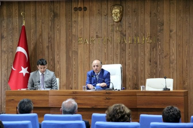 Bartın 2. İl İdare Şube Başkanları Toplantısı Yapıldı