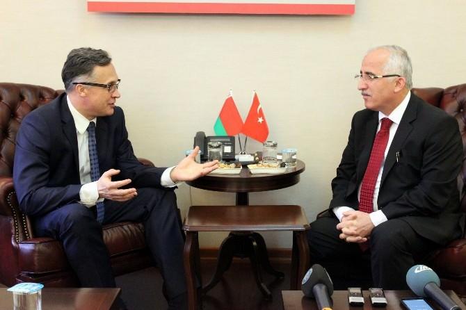 Belarus Büyükelçisinden Vali Tuna'ya Ziyaret