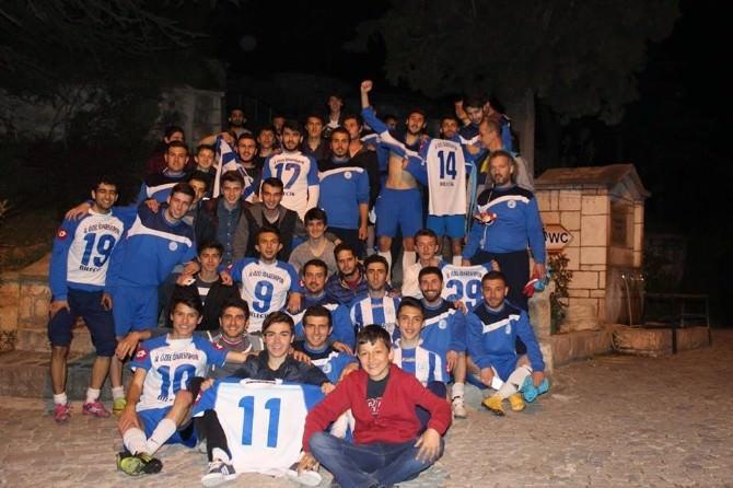 Bilecik 1. Amatör Lig Şampiyonu İl Özel İdarespor Antrenörü Hasan Kol