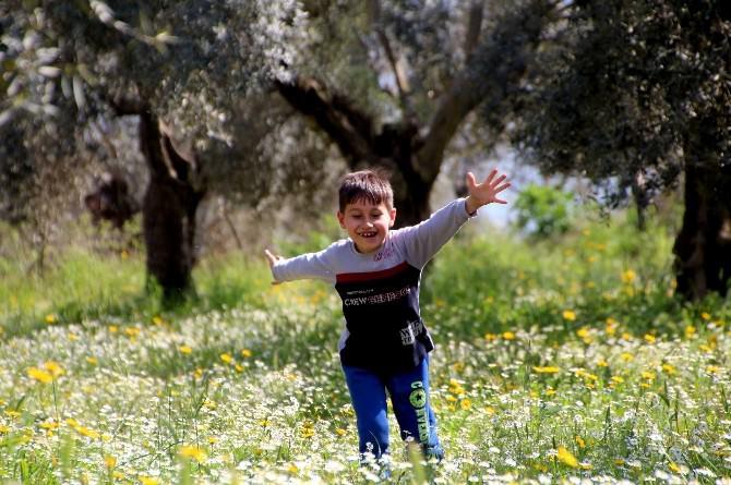 Doğa Yeşillendi, Çocuklar Şenlendi