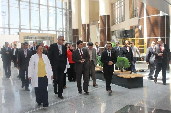Tkhk Başkanı Çukurova Yeni Hastaneyi İnceledi