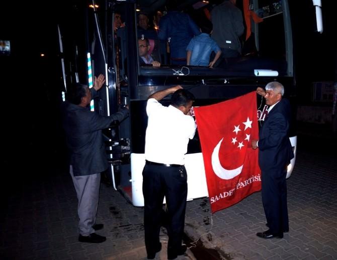 Saadet Partisi'nden Çanakkale Gezisi