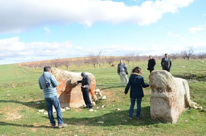 Sivas Koruma Kurulu Üyeleri Darende'de İnceleme Yaptı