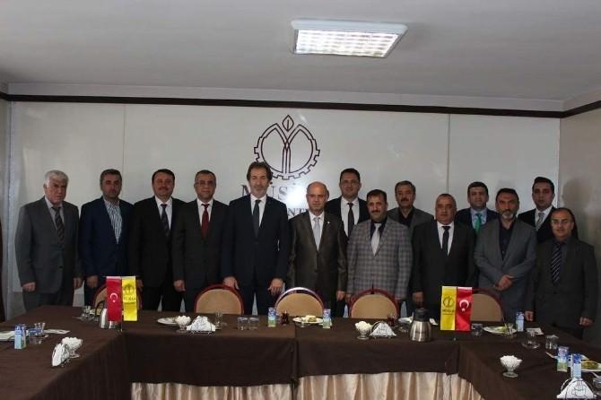 Gaziantep İl Emniyet Müdürü Erhan Gülveren MÜSİAD'ı Ziyaret Etti