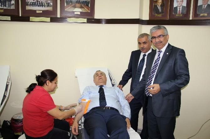 Adaso'dan Kızılay'a Kan Bağışı