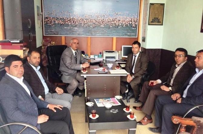 Erciş Osmanlı Ocakları Derneği'nden Yerel Gazetelere Ziyaret