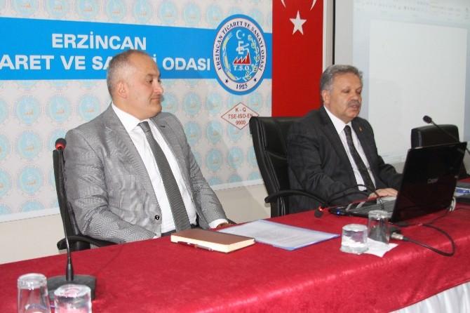 Yatırım İzleme Ve Değerlendirme Toplantısı Vali Kahraman���ın Başkanlığında Yapıldı