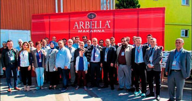 Adanalı marketçiler Arbella tesislerinde