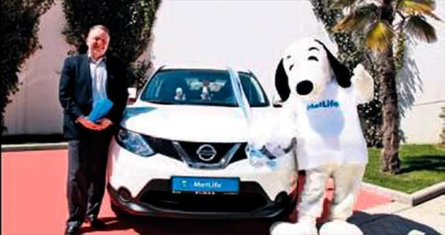 MetLife'ın otomobil talihlisi belli oldu