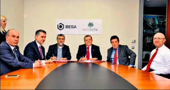 BESA'dan 850 konutluk dev proje atağı geldi