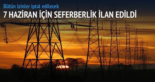 7 Haziran'da elektrik kesintisi olmayacak