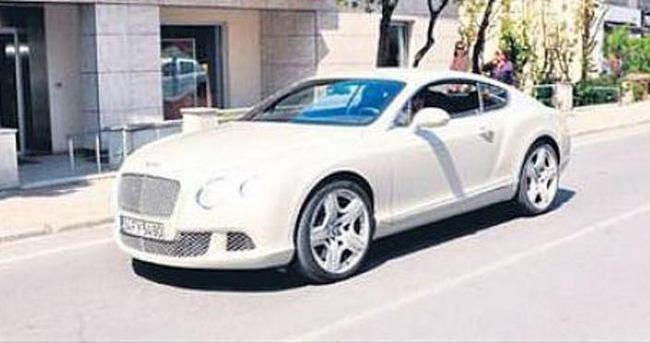 Tolga Zengin paraya kıydı Bentley aldı