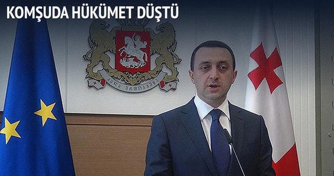 Gürcistan'da hükümet düştü