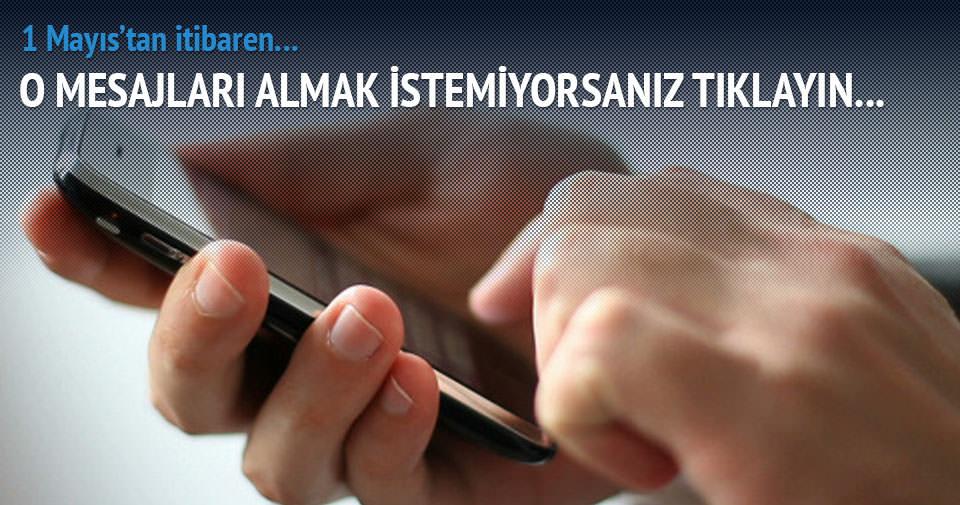 İşte reklam SMS'i almamak için yapacaklarınız