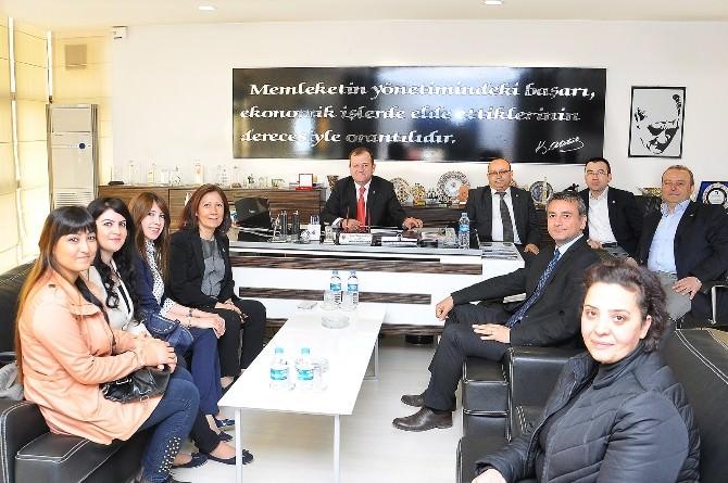 AK Partili Ceritoğlu'ndan TSO Ziyaret