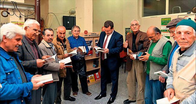 Karesi'de her yer kütüphane