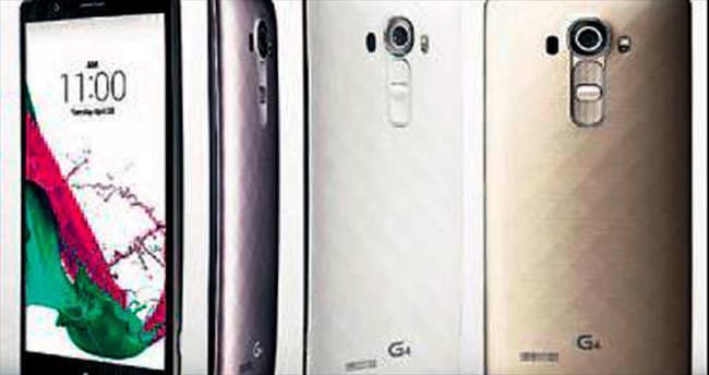 LG'nin hızlı kameralı G4'ü sahneye çıktı