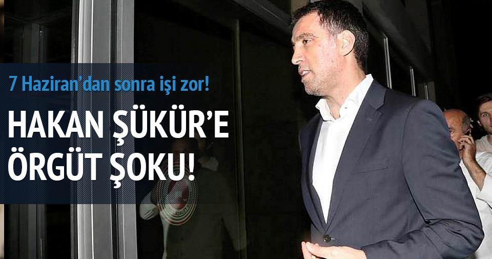 Hakan Şükür'e ve CHP'li vekile 'Örgüt' şoku!