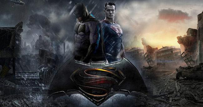 Batman ve Superman karşı karşıya