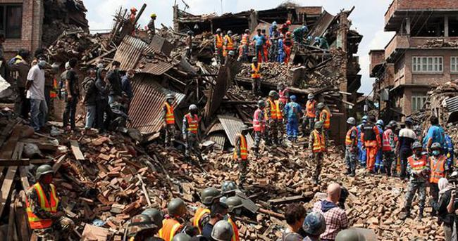 BM'den Nepal'e yardım