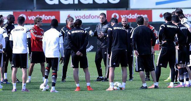 Beşiktaş'ta Trabzon mesaisi