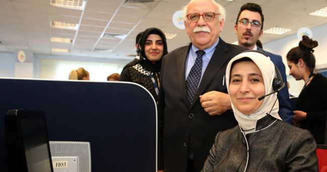 Çağrı merkezinde Sare Davutoğlu sürprizi