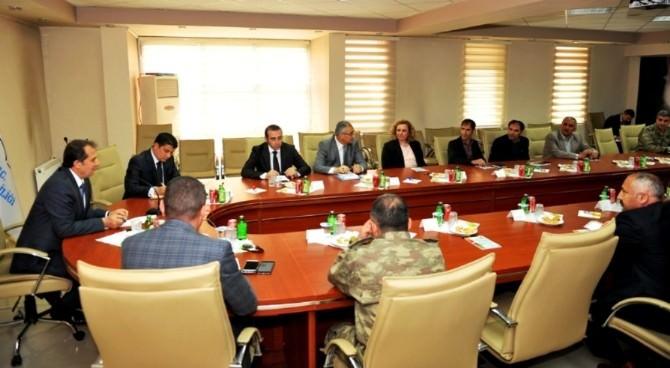 Van'da Seçim Güvenliği Toplantısı