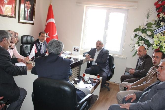 AK Parti Edremit İlçe Başkanı Halis Bayramoğlu, TOKİ Sakinleri İle Bir Araya Geldi