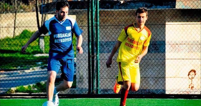 Pursaklar'da futbol coşkusu